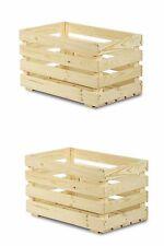 Klappkiste Kunststoffkiste in Holzoptik 600 x 400 x 188