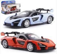 1/32 CaiPo McLaren senna Supercar Diecast Model Car Toys Kids Gifts Blue/Black