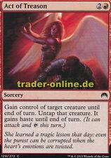 4x Act of Treason (fellone Tat) Magic ORIGINS Magic