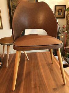 Erwachsenen 50er Jahre Vintage Cocktail Stuhl Original Zustand