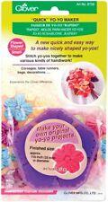 New - Quick Yo-Yo Maker - Flower Shape - Small - by Clover - #8706