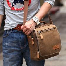 Men's Canvas Messenger Shoulder Bag Handbag Outdoor Travel Hiking Crossbody Lot