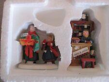 Dept 56 New England Village Christmas Bazaar Woolens & Preserves