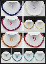 8mm Quality Imitation Pearl Wedding Necklace