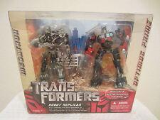 Transformers movie deluxe Exclusive Battle Dameged Figures Robot Replicas  new