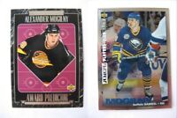 1995-96 Collector's Choice #163 Mogilny Alexander platinum player's club  sabres