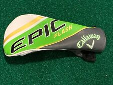 Callaway Golf EPIC FLASH Driver Headcover - 2019 Lime Green Head Cover MINT