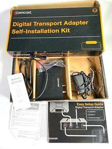 COMCAST DC50X Self-Installation Kit DIGITAL TRANSPORT ADAPTER cable B3748416000