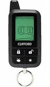 Clifford 7345X 2-Way LCD 4-Button Responder Replacement Remote