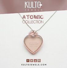 Collana Rosè Kulto Jewels con Cuore Rosa Necklace