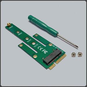 Mini mSATA PCI-E SATA 3.0 SSD to NGFF M.2 B + M Key Male Adapter Converter Card