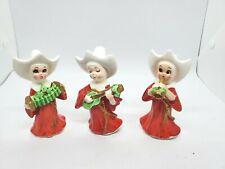 Vintage~Leftons~Set Of 3 Nuns~Orchestra~Figurines~ Excellent