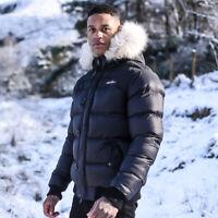 4Bidden Motion Hooded Padded Jacket - Black