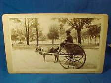 1870s BLACK AMERICANA -The 15th Amendment CABINET CARD  PHOTOGRAPH