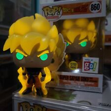 Funko Pop! Dragon Ball Z Super Saiyan Goku First Appearance Gitd Go! Calendars X
