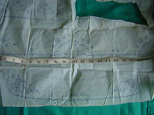 """Embroidery Transfer Vintage Collar Cuffs 15"""" Length Various Pieces"""