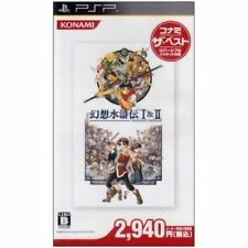 Used PSP Genso Suikoden I & II Konami SONY PLAYSTATION JAPAN IMPORT