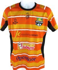 8 Man Men's SS Rugby Shirt EUC Size Medium
