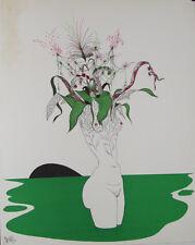 L'Ophélie : Lithographie signée Félix LABISSE