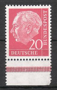 BRD 1954 Mi. Nr. 185 mit Unterrand Postfrisch TOP!!! (27669)