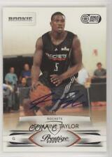 2009 Prestige Bonus Shots Black Signatures /100 Jermaine Taylor #182 Rookie Auto