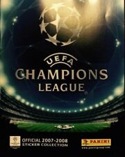 UEFA Champions League 2007/2008 - Panini Album COMPLETE