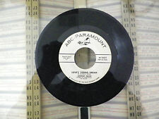JOHNNY NASH- TOO MUCH LOVE- LOVES YOUNG DREAM- 45RPM- RECORD-  VG+