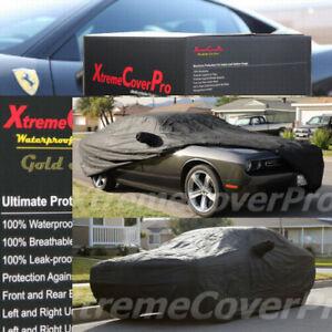 Custom fit 2008 2009 2010 2011 Dodge Challenger Waterproof Car Cover BLACK