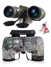 professional Military Marine Hunting 10x50 Binocular with Compass Night Vision