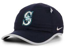 reputable site c2424 6179d Seattle Mariners Nike MLB Featherlight Adjustable Cap Hat Baseball DriFit  UniSex