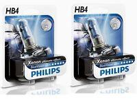 2 AMPOULES HB4 PHILIPS BLUE VW EOS GOLF 6 PLUS ANTIBROUILLARDS ULTRA XENON 55W
