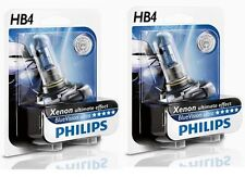 2 AMPOULES HB4 PHILIPS BLUE VW EOS GOLF 6 PLUS ANTIBROUILLARDS ULTRA XENON 55W