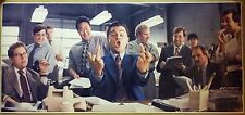 "The Wolf Of Wall Street HUGE 52"" x 24"" Movie Poster Leo Man cave Bar Office Work"