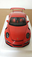 AUTOart 78168 PORSCHE 911 991 GT3 RS 1/18 LAVA ORANGE with DARK GREY WHEELS