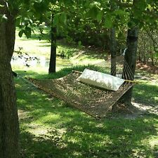 Pawleys Island 13DCAB Large Original DuraCord Rope Hammock- Antique Brown