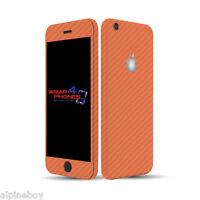 Textured Carbon Fibre Skin Cover Sticker Decal Vinyl Wrap Apple iPhone 7 7 Plus