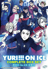 Yuri!!! On Ice DVD ((Vol : 1 to 12 end) with English Dubbed