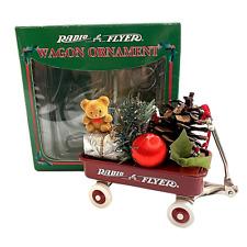Vintage (1995)  Radio Flyer Red Wagon Christmas Ornament Collectible Model 100