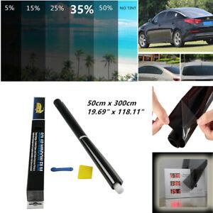 35% Car Window Tint Solar Film Glass Explosion Proof Heat Insulation Membrane UV