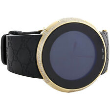 Diamond Gucci I-Gucci Watch Digital Grammy Edition YA114215 Black/Gold 2.5 CT.