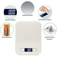 Backlit LCD Digital Kitchen Scale Cooking Weighing Food Scales 11LBS / 5KG x 1G