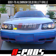 FOR 00-05 CHEVY IMPALA 1PC UPPER W/O LOGO CUT OUT BILLET GRILLE INSERT