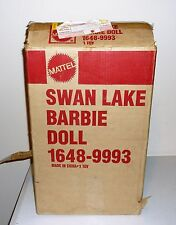 Mattel Swan Lake Barbie Doll With Shipper Box