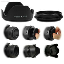 D002 58mm Petal Flower Lens Hood For Canon Nikon Sony Olympus Pentax Camera^