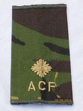 Rangschlaufe:2nd Lieutenant,Army Cadet Force, ACF,DPM