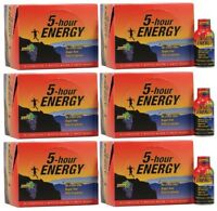 5 Hour Energy GRAPE Great Tasting SUGAR FREE Vitamins Nutrients Caffeine 72 Ct