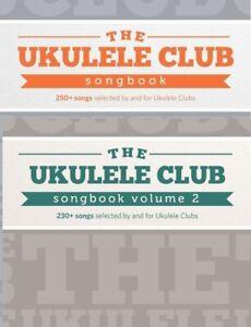 UKULELE CLUB SONGBOOK Vol 1 & Vol 2 uke ukulele