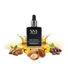 SNB Nail Revive Therapy Oil Restores Brittle & Damaged Nails, Skin, Cuticle