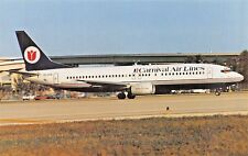 CARNIVAL B-737-400  Airplane Postcard