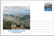 "Landmarks - souvenir postcard (glossy 6""x4""card) - Christ the Redeemer Statue"